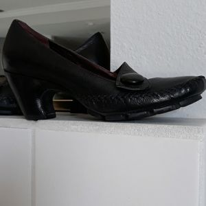 """Clark's size 9 1/2 Shoes with 2"""" Heel"""
